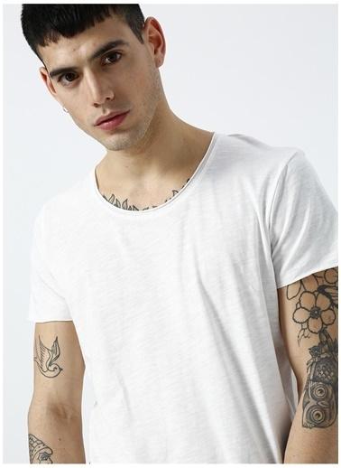 Jack & Jones Jack & Jones 12136679 Beyaz  T-Shirt Beyaz